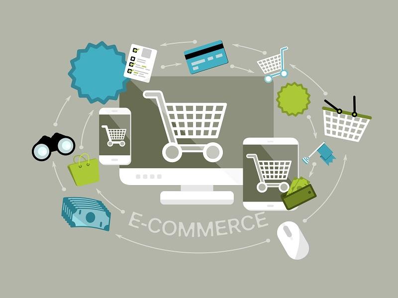 Popularity of e-commerce